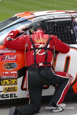 Dale Earnhardt Jr. and Tony Stewart