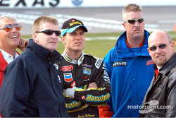 Jeff Burton, Jamie McMurray y Todd Bodine