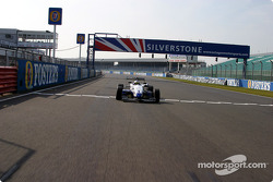 British F3 cars on track