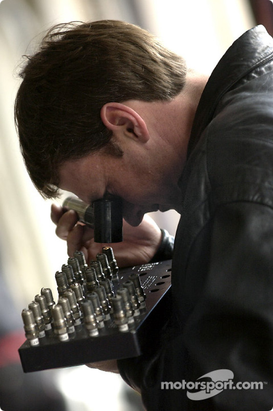 Doug Yates, constructor dell motor para Robert Yates Racing
