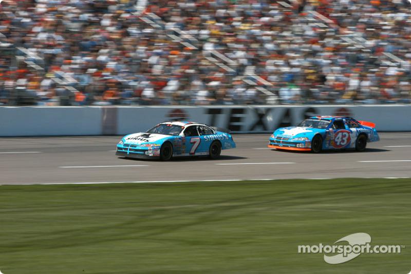 Jimmy Spencer and John Andretti