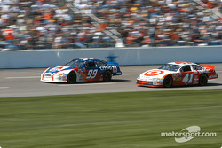 Jeff Burton and Casey Mears