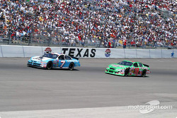 Jimmy Spencer y Bobby Labonte