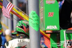 Mensaje del equipo Joe Gibbs Racing