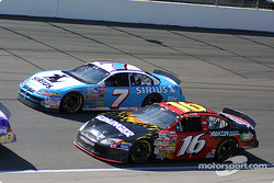 Jimmy Spencer y Greg Biffle