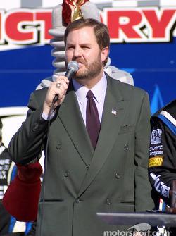 El Presidente del Texas Motor Speedway