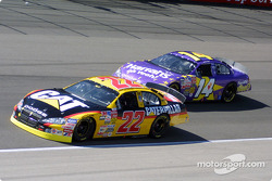 Ward Burton y Larry Foyt