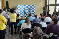 Visit, Ayrton Senna Renault Faktöry Curitiba: basın toplantısı ve Fernando Alonso ve Jarno Trulli