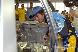 Visita a la fábrica Renault Ayrton Senna en Curitiba: Jarno Trulli
