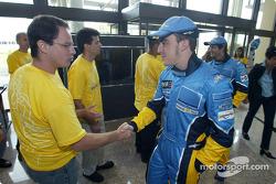 Visita a la fábrica Renault Ayrton Senna en Curitiba: Fernando Alonso