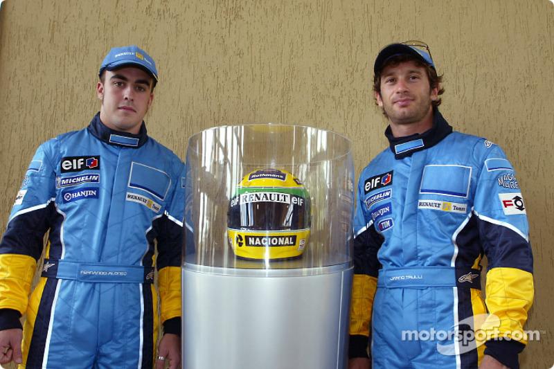 Visit, Ayrton Senna Renault Faktöry Curitiba: Fernando Alonso ve Jarno Trulli ve Ayrton Senna'in, ka