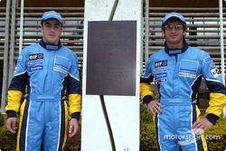 Visit, Ayrton Senna Renault Faktöry Curitiba: Fernando Alonso ve Jarno Trulli ve Ayrton Senna monume