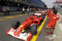 Technical inspection for Ferrari