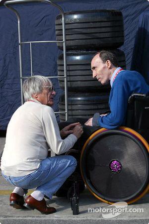 Bernie Ecclestone ve Frank Williams