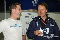 Ralf Schumacher ve Sam Michael