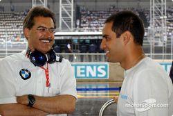 Mario Theissen et Juan Pablo Montoya