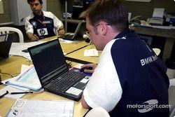Williams-BMW mühendiss