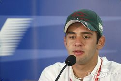 Thursday press conference: Antonio Pizzonia