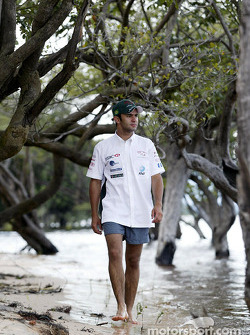 Antonio Pizzonia vuelve a su ciudad natal en Manaos