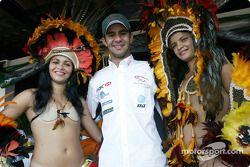Antonio Pizzonia re-visits his home town Manaus