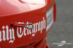 Telegraph sponsorship on the Vauxhall