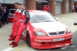 Yvan Muller, Paul O'Neill and James Thompson