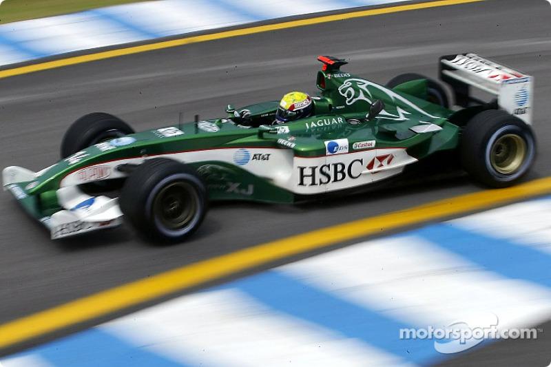 2003 - F1 chez Jaguar