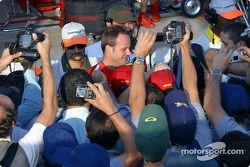 Rubens Barrichello ve Brazilian fans