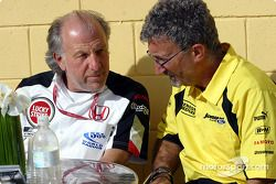 David Richards et Eddie Jordan