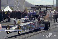 Cory McClenathan does a nice wheelie