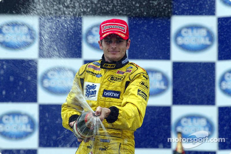 Ganador: Giancarlo Fisichella, Jordan-Ford