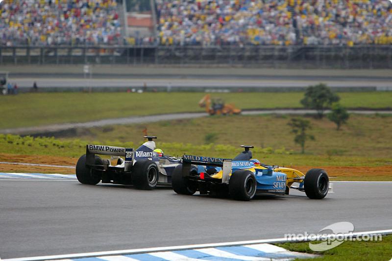 Ralf Schumacher et Fernando Alonso