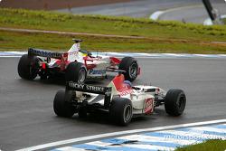 Cristiano da Matta y Jacques Villeneuve