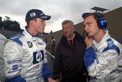 Ralf Schumacher, Willi Webber y Gordon Day