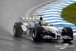 Juan Pablo Montoya se rend sur la grille de départ
