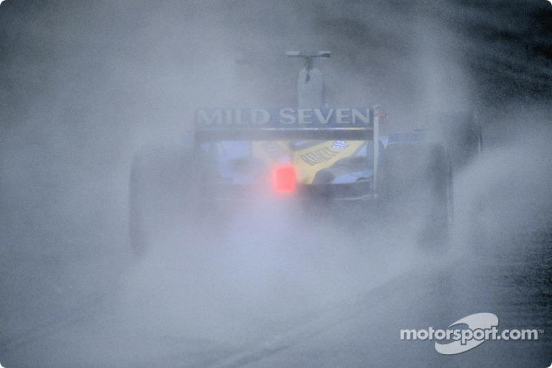 Fernando Alonso se rend sur la grille de départ