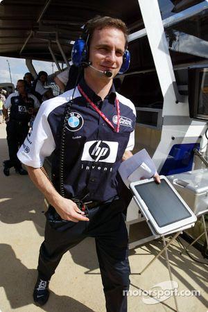 Williams-BMW takım elemanı