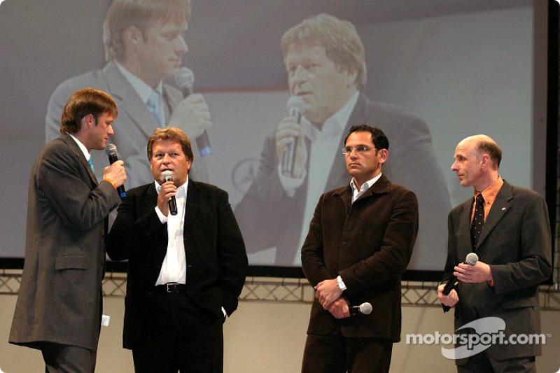 Team bosses Norbert Haug, Hans-Jürgen Abt and Volker Strycek