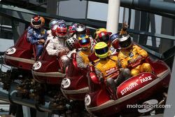 Die DTM-Fahrer in der Achterbahn