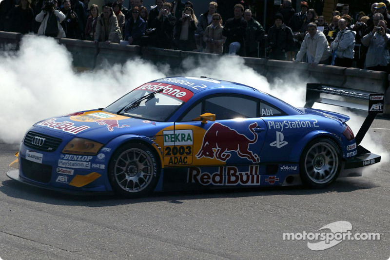 Burnouts: Christian Abt, Audi