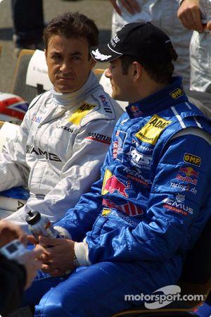 Jean Alesi and Karl Wendlinger