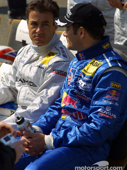 Jean Alesi and Karl Wendlinger