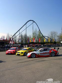 The 2003 DTM cars