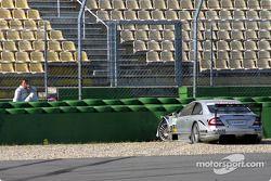 Unfall: Marcel Fässler, Mercedes
