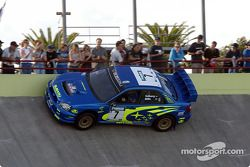 Petter Solberg en el Velódromo