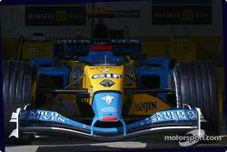 Zona de garage del Renault F1