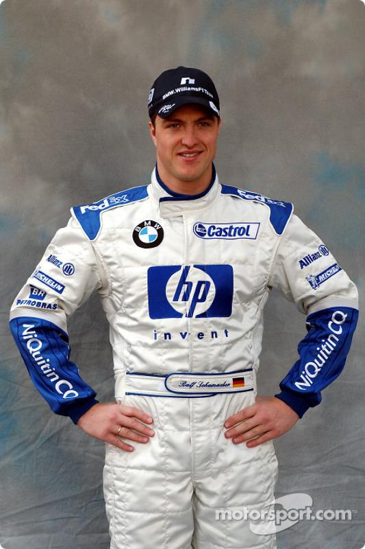 Sesión de fotos para Ralf Schumacher