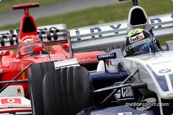 Ralf et Michael Schumacher
