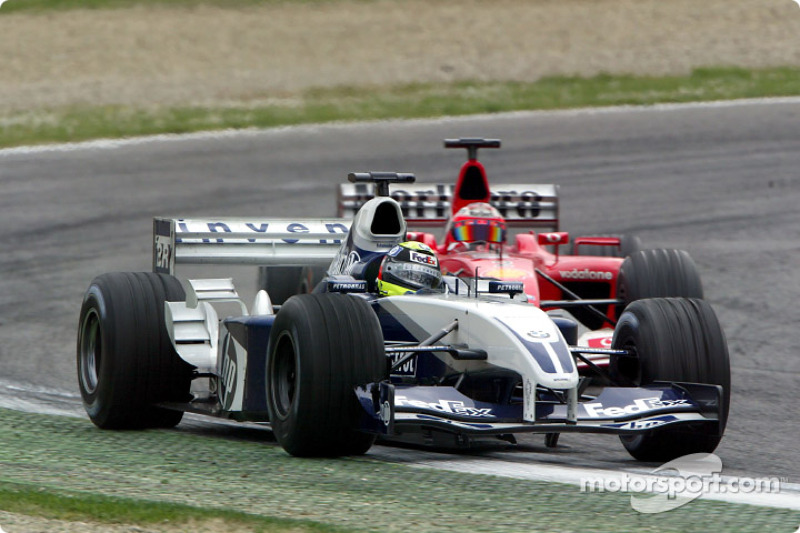 Ralf Schumacher and Rubens Barrichello