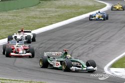 Mark Webber et Cristiano da Matta